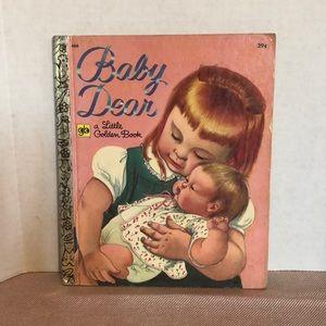 Little golden book baby dear 1971